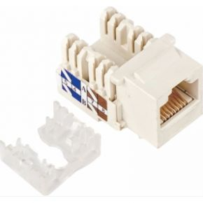 Astrotek CAT5e UTP Keystone Jack for Socket Kit 10ps per Pack Poly Bag White