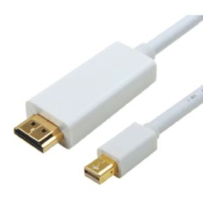 Astrotek Mini DisplayPort DP to HDMI Cable 3m - 20 pins Male to 19 pins Male