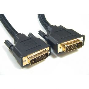 Astrotek DVI-D Cable 5m - 24+1 pins Male to Male Dual Link 30AWG OD8.6mm