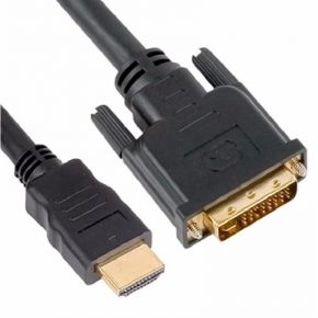 Astrotek HDMI to DVI-D Adapter Converter Cable 5m Male to Male Gold Plated RoHS
