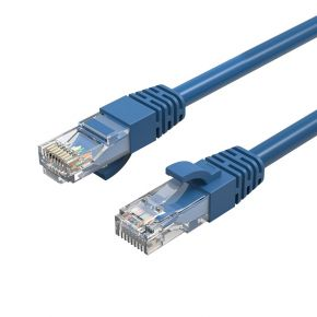 Cruxtec 1m Blue CAT6 Network Cable 26AWG OFC(Oxygen Free Copper) Patch Lead
