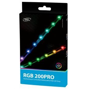 DeepCool RGB 200 Pro Magnetic & Adhesive High Brightness Addressable LED Strip