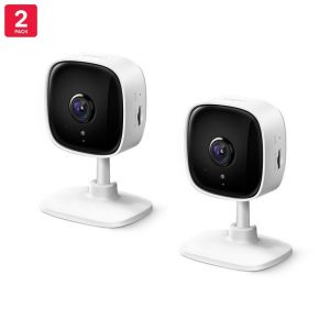 TP-Link 2-pack Tapo C100 Home Security Wi-Fi Camera H.264, 1080P, 2-Way Audio