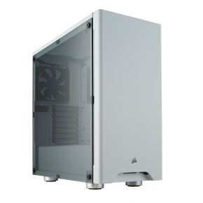 Corsair Carbide Series 275R Mid-Tower Compact Gaming PC Case White CC-9011131-WW