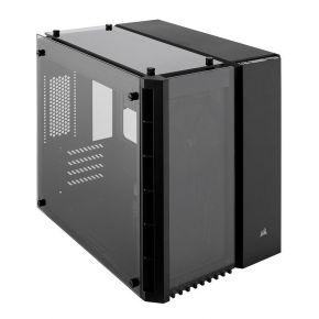 Corsair Crystal Series 280X Tempered Glass PC Case for Micro ATX Mini-ITX Black