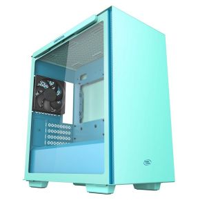 Deepcool Macube 110 Mint Green Tempered Glass Mini Tower Micro-ATX Computer Case