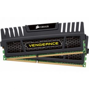 Corsair 16GB (2x8GB) DDR3 1600MHz Vengeance Black Memory RAM PC