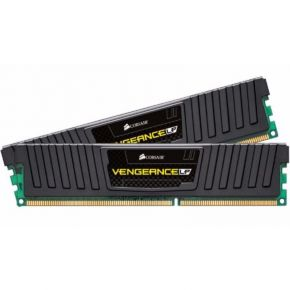 Corsair 8GB (2x4GB) DDR3 1600MHz Vengeance Low Profile Black Memory RAM PC