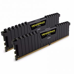 Corsair Vengeance LPX DDR4 2133MHz 16GB 2x8GB Black Gaming Memory RAM PC