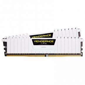Corsair 16GB (2x8GB) DDR4 3200MHz Vengeance LPX White Memory RAM PC