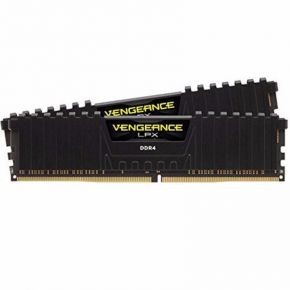 Corsair 16GB (2x8GB) DDR4 2400MHz C16 Vengeance LPX Black Memory RAM PC