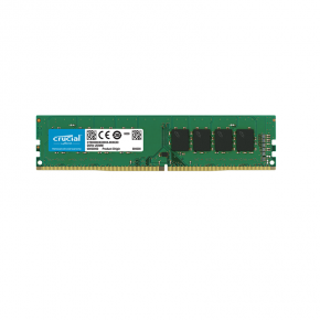 Crucial 16GB DDR4 PC19200 2400Mhz CL17 Single Rank Desktop Memory CT16G4DFD824A