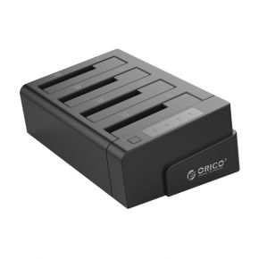 ORICO 6648US3 4 Bay USB3.0 External Hard Drive Dock with 1 to 3 Clone Function