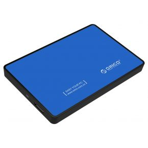 "ORICO 2588US3 USB 3.0 External 2.5"" SATA SSD HDD Hard Disc Drive Enclosure Case Blue"