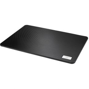 "Deepcool N1 Notebook Cooler Up to 15.6"" Super Flat Metal Mesh 180mm Fan Black"