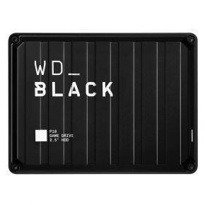 Western Digital WD Black 4TB P10 Game Drive USB 3.2 Gen 1 External Hard Drive