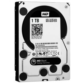 "Western Digital WD Black 1TB 3.5"" SATA Internal Desktop Hard Drive HDD 7200RPM"