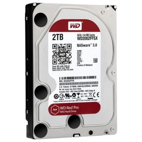 "Western Digital Red Pro 2TB HDD for NAS SATAIII 7200rpm 64Mb 3.5"" WD2002FFSX"
