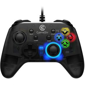 GameSir T4w Wired Game Controller Dual Shock Game Gamepad for Windows 10/8.1/8/7