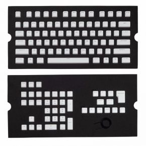 Corsair Gaming PBT Double-shot Keycaps Full 104/105-Keyset - White CH-9000234-WW