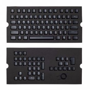 Corsair Gaming PBT Double-shot Keycaps Full 104/105-Keyset - Black CH-9000235-WW