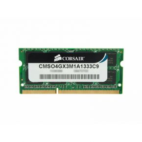 CORSAIR Value Select 4GB (1x4GB) DDR3 DRAM SODIMM 1333MHz Unbuffered C9 1.5V