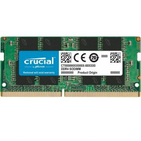 Crucial 16GB Laptop Notebook Momory 1x16GB DDR4 2666 MHz SODIMM CL19 Dual Ranked