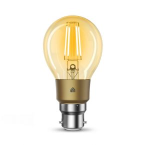 TP-Link KL60B Kasa Filament Smart Bulb Warm Amber Bayonet Dimmable Voice Control