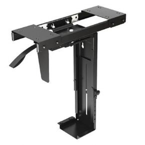 Brateck BT-CPB-5 Adjustable Under-Desk CPU Mount for NUC PC &Other Mini CPUs