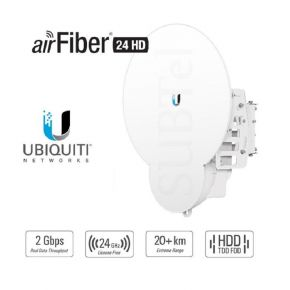 Ubiquiti UBNT airFiber 24 HD 2Gbps+ 24GHz 20KM Point to Point Radio AF-24HD