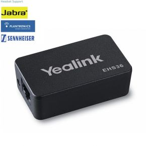 Yealink EHS36 Wireless Headset Adapter Suits Plantronics/Jabra/Sennheiser Headset