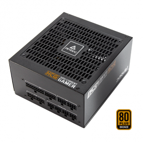 Antec HCG-850M 850W 80+ Bronze Fully Modular 135mm DBB Fan DC to DC Fully Bridge