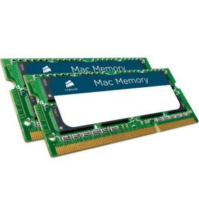 Corsair Memory for Mac 8GB 2 x 4GB DDR3 SODIMM 1333MHz C9 CMSA8GX3M2A1333C9