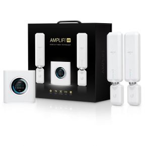 Ubiquiti AMPLIFI AFI High Density Home Router with 2 x HD Extenders Wi-Fi Mesh