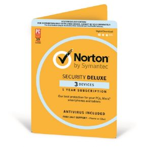Symantec Norton Security Deluxe 3.0 AU 1 User 3 Device 12 Month CARD ATTACH