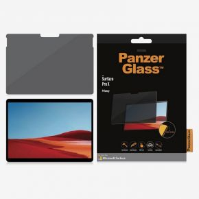 PanzerGlass Microsoft Surface Pro X Privacy Screen Protector with Privacy Filter