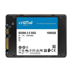 Crucial BX500 1TB 3D NAND SATA 2.5-inch SSD 540 MB/s Intenal Solid State Drive