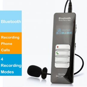Hnsat DVR-188 4GB Bluetooth Digital Voice Recorder Phone Call Recorder Rec/TF