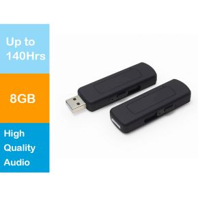 Hnsat UR-09 Mini 8GB Memory USB Flash Drive Digital Audio Voice Recorder