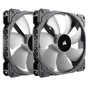 Corsair ML140 140mm Premium Magnetic Levitation Fan  Twin Pack CO-9050044-WW